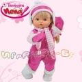 Bambolina Пишкаща кукла Nena със зимни дрехи BD332