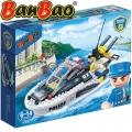2017 BanBao Police Конструктор Полицейска моторна лодка