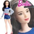 2017 Barbie Fashionistas Кукла Барби DYY91 Nautical Petite