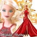 2017 Barbie Holiday Прелестна кукла Барби Блондинка DYX39