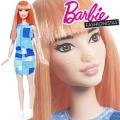 2017 Barbie Fashionistas Кукла Барби DYY90 Patchwork Denim