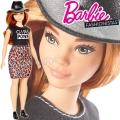 2017 Barbie Fashionistas Кукла Барби DYY94 Leopard Curly
