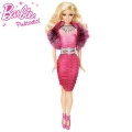 Barbie Pinktastic  Кукла с рокля и яка X6992