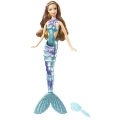 Barbie  Барби A mermaid tale Синя русалка Mattel