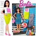 2017 Barbie Fashionistas Кукла Барби с модни тоалети So Sporty DTF01