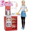 "*Barbie® Комплект ""Барби в кухнята"" DTF92"