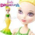 *Barbie® Dreamtopia Малка кукла русалка Yellow DVM97