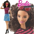 2017 Barbie Fashionistas Кукла Барби DVX77 Denim & Dazzle