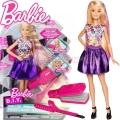 *Barbie® D.I.Y. Crimps & Curls Фризьорски салон DWK48