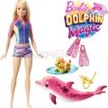 *Barbie® Dolphin Magic Кукла Барби с делфинче FBD63