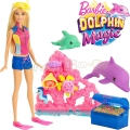 *Barbie® Dolphin Magic Съкровището на Барби FCJ29