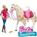*Barbie® Dream Horse Барби и нейното интерактивно конче FRV36