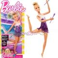 Barbie Made to Move® Кукла Барби състезателка по художествена гимнастика FJB18