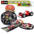 Bburago - Комплект с преносима писта Ferrari Kids 18-31275