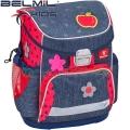 2017 Belmil Apple Ергономична раница за училище 405-33-2 Mini Fit