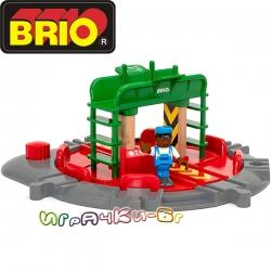 Brio Гара Turntable с фигурка 33476