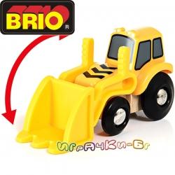 Brio Играчка багер Loader 33436
