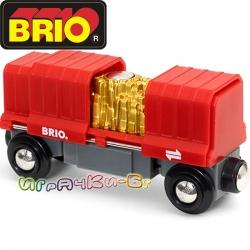 Brio Играчка Карго вагон 33938