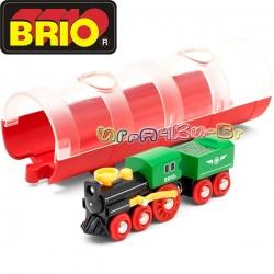 Brio Играчка парен локомотив 33892