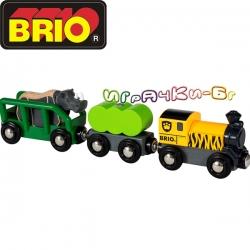 Brio Сафари Рино влакче 33964