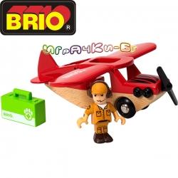 Brio Играчка самолет Safari Airplane 33963