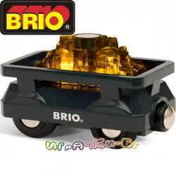 Brio Играчка Вагонче за злато 33896
