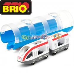 Brio Играчка влакче и тунел 33890