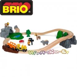 Brio Влакче с релси Safari Adventure 33960