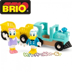 Brio Влакчето на Дейзи и Доналд Дък 32260