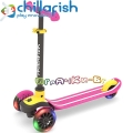 Chillafish Scotti GLOW Tротинетка Pink CPSC02PIN