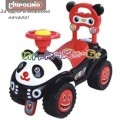 Chipolino - Детска кола за яздене Панда Red
