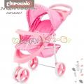 Chipolino Трикси Количка триколка за кукли Pink