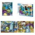 Clementoni - Monster University 48813 Пъзел 3 в 1