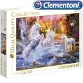 Clementoni HQ Collection Пъзел Еднорози 1500ч