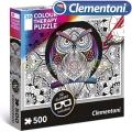 Clementoni 3D Пъзел за оцветяване Бухал 500ч