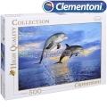 Clementoni HQ Collection Пъзел Делфини 500ч