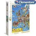 Clementoni Карта на Европа Пъзел 1000ч