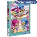 Clementoni Shimmer and Shine Пъзел 2x20