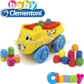 Clementoni Clemmy Конструктор Тигър Yellow