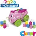 Clementoni Clemmy Конструктор Коте Pink