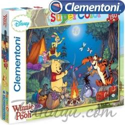 Clementoni Super Color Disney Пъзел Мечо Пух 150ч.