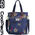Cool Pack Amber Чанта Blue Denim Flower