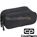 Cool Pack Clever Несесер с 2 ципа Snow Black/Silver
