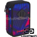 Cool Pack Jumper 3 Ученически несесер Crazy Pink Abstract