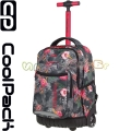 Cool Pack Trolley Swift Раница - Тролей Coral Hibiscus