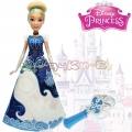 Disney Princess Кукла Пепеляшка с магическа рокля