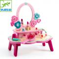 Djeco DJ06553 Детска дървена тоалетка за малките дами
