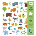 Djeco - Стикери Animals 160 броя DJ08841