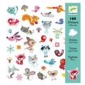 Djeco - Стикери Small Friends 160 броя DJ08842