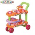 Ecoiffier - Количка за сервиране с 32 елемемента Bubble Cook 1001617